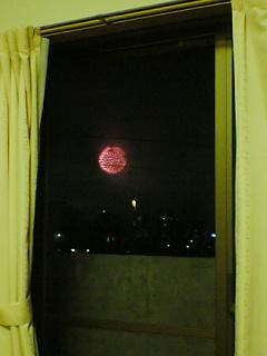 多摩川の花火